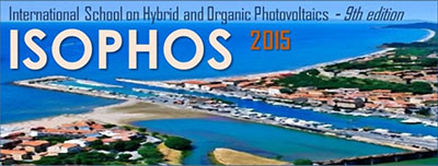 ISOPHOS 2015 - International School on Hybrid and Organic Photovoltaics logo